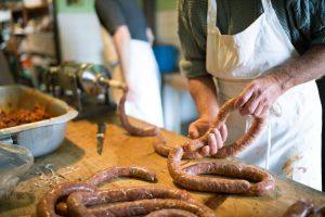 Organic Gourmet Sausage Making Class