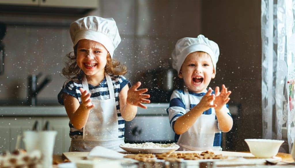 Online Kids Cooking Class – Healthy Samosas and Apple Raspberry crumble